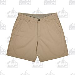 Drake Washed Cotton Canvas Stone Shorts