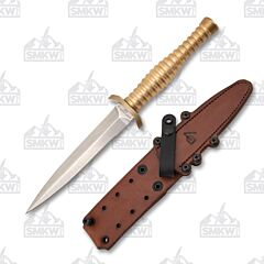 Defiant 7 Rook 6 Bronze Fixed Blade