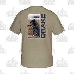 Drake Live Retrieve T-Shirt Sand