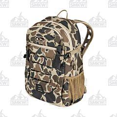 Drake Old School Camo Daypack