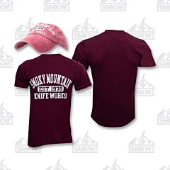 SMKW Maroon Hat Maroon Shirt Combo