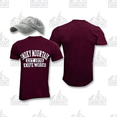 SMKW Olive Hat Maroon Shirt Combo