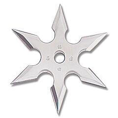 Master Cutlery 6 Point Throwing Star Stainless Steel 3""