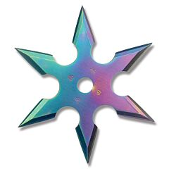 """Master Cutlery 6-Point Throwing Star Tinite Coated 3"""""""