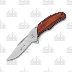 Master Cutlery Elk Ridge Damascus Pakka Brown