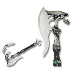 Master Cutlery Alien Fantasy Axe with Detachable Mini Knife Model FMT-002