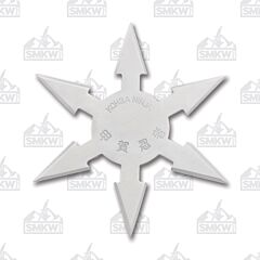 "Master Cutlery 4"" Diameter 6 Point Throwing Star"