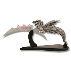 Dragon Slayer Fantasy Knife with Display Stand