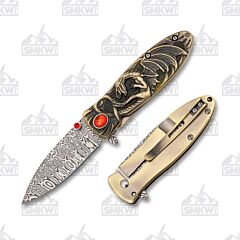 Master Cutlery Masters Collection Dragon Damascus Gold
