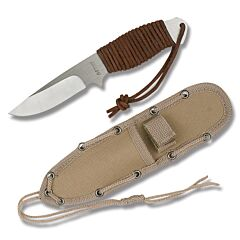 MTech Fixed Blade Skinner with Suede Cord Wrapped Handle