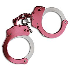MTech USA Pink Hand Cuffs Model MT-S4508PK