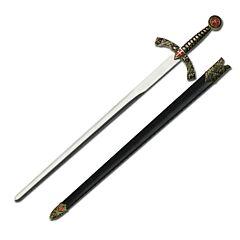 Knight's Templar Shield Sword with Scabbard
