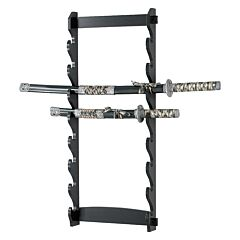 Master Cutlery 8 Tier Sword Wall Mount Display