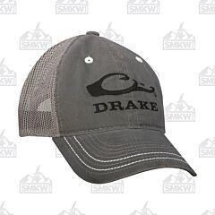 Drake Mesh Back Logo Cap Gray