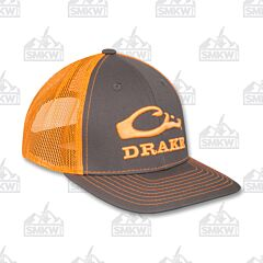 Drake Logo Mesh Back Cap Orange