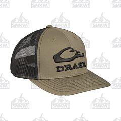 Drake Logo Mesh Back Cap Black