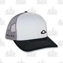 Drake Enid Mesh Back Cap Charcoal and Gray