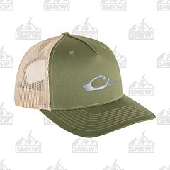 Drake 5 Panel Slick Logo Cap Army Olive