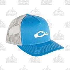 Drake 5 Panel Slick Logo Cap Blue