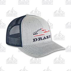 Drake Americana Cap Gray and Navy