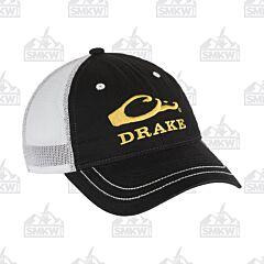 Drake Mesh Back Logo Cap Black