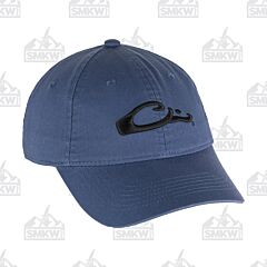 Drake Cotton Twill Cap Blue