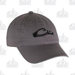 Drake Cotton Twill Cap Gray