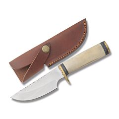 Szco Fancy Skinner Stainless Steel Blade Bone Handle