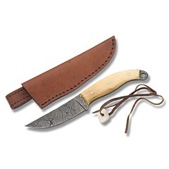 Damascus Smooth Bone Skinner