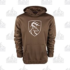 Drake Non Typical Performance Hoodie with Agion Brown