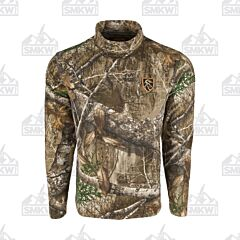 Drake Storm Front Fleece Midweight 4 Way Straight Stretch Realtree Edge