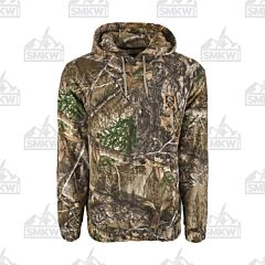 Drake Storm Front Fleece Midweight 4 Way Stretch Realtree Edge Hoodie