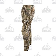 Drake Storm Front Fleece Midweight 4 Way Stretch Pant Realtree Edge