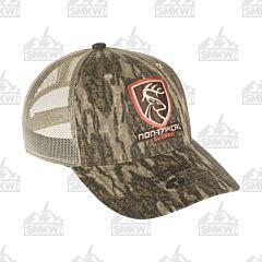 Drake Non Typical Logo Camo Mesh Back Cap Mossy Oak Bottomlands