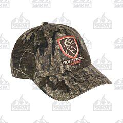 Drake Non Typical Logo Camo Cotton Cap Mossy Oak Bottomlands
