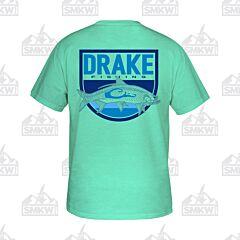 Drake Tarpon Shield Shirt Mint Heather