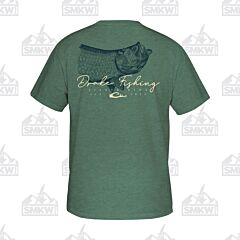 Drake DPF Tarpon T-Shirt Military Green