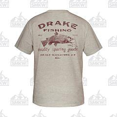Drake DPF Steelhead Short Sleeve Shirt