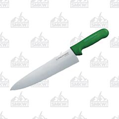 "Dexter Russell Sani-Safe Cook's Knife with Green Polypropylene Handles and Stainless Steel 10"" Plain Edge Blades Model S145 10G PCP"