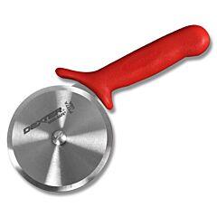 "Dexter Russell 4"" Sani-Safe Red Pizza Cutter"