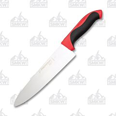 "Dexter Russel Red 8"" Cook's Knife High Carbon Steel Blade Polypropylene Handle"