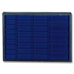 "Hardboard Display with Blue Insert 20-1/4"" x 14-1/4"" x 2"""
