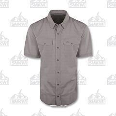 Drake Traveler's Check Shirt Gray