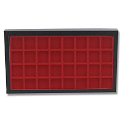 "Hardboard Display with Red Insert 8"" x 14-1/2"""