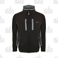 Drake Windproof Tech Jacket Black and Charcoal
