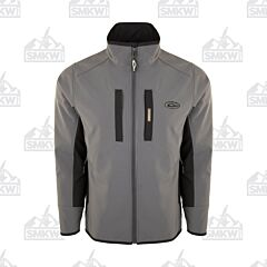 Drake Windproof Tech Jacket Charcoal and Black
