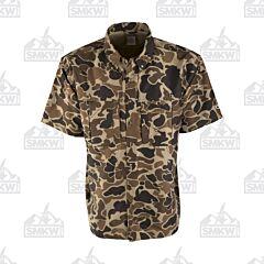 Drake Old School Wingshooter Short Sleeve Shirt