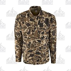 Drake Old School Wingshooter Long Sleeve Shirt