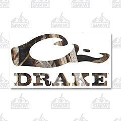 Drake Logo Window Decal Realtree Timber