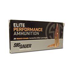 Sig Sauer Elite Performance 6.5 Creedmoor 140 Grain Open Tip Match 20 Rounds